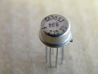 CA3053  DIFFERENTIAL AMPLIFIER RCA TO99