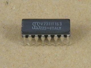 V7311T1S3 SGS CERAMIC DIP14