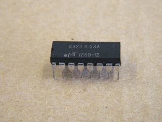MT1259-12 MICROM DRAM 256KX1 120NS DIP16