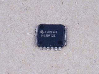 MSP430F135IMP 16BIT MICROCONTROLLER TEXAS LQFP64