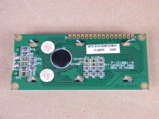 MCT-S16100XFGHSAY 16X1 LCD MICROTIPS ILLUMINATO LED P16100