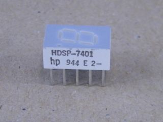 HDSP7401 7,6MM COMMON ANODE DISPLAY YELLOW  HP