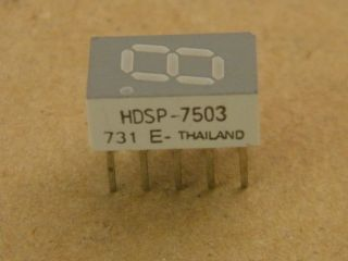 HDSP7503 7,6MM COMMON CATHODE DISPLAY RED  HP