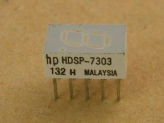 HDSP7303 7,6MM COMMON CATHODE DISPLAY RED  HP