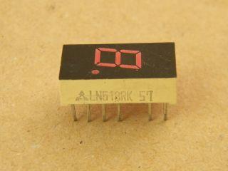 LN513RK 7 SEGMENT DISPLAY 7.6MM  COMMON CATHODE PANASONIC