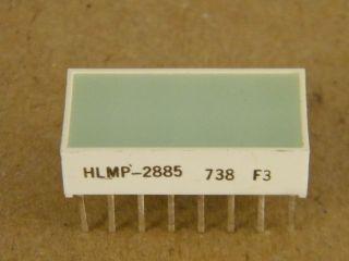 HLMP2885 LIGHT BAR 8,9X19MM GREEN HP