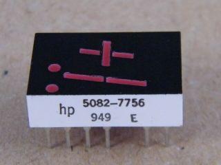 HP 5082-7756   -+1 DISPLAY   RED  HP