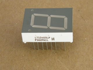 LTS3403AE DISPLAY 20MM COMMON CATHODE RED LITE-ON
