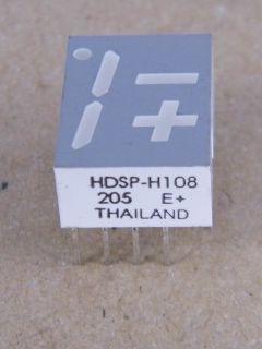 HDSP-H108 DISPLAY -+1 COMMON ANODE HP BRADCOM