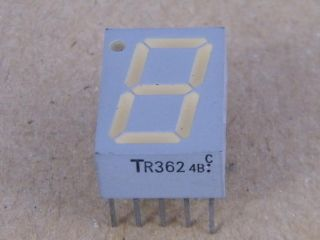 TLR362  TR362 TOSHIBA 7 DEG. DISPLAY COMMON ANODE 14.2MM