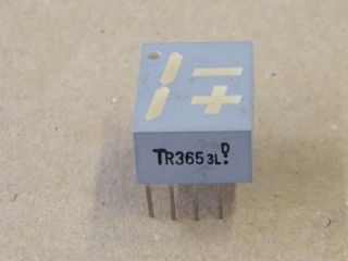 TLR365 TR365 DISPLAY -+1  COMMON ANODE 14.2MM TOSHIBA