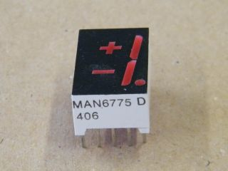 MAN6775 DISPLAY -+1 COMMON ANODE 14.2MM QUALITY TECHNOLOGY