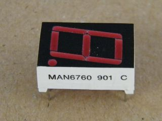 MAN6760 DISPLAY  COMMON ANODE 14.2MM QUALITY TECHNOLOGY