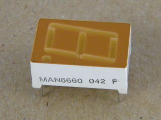 DISPLAY MAN6660 COMMON ANODE 14.2MM ORANGE FAIRCHILD