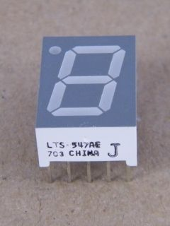 DISPLAY LTS547AE COMMON CATHODE 14.2MM ORANGE LITE-ON
