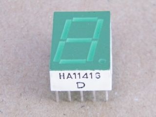 HA1141G DISPLAY COMMON ANODE GREEN SIEMENS