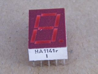 HA1141R DISPLAY COMMON ANODE RED SIEMENS