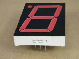 LTS23305HRB COMMON CATHODE DISPLAY RED 57MM LITE-ON