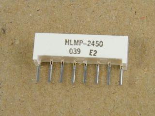 HLMP2450 LIGHT BAR 3.8X19MM YELLOW HP