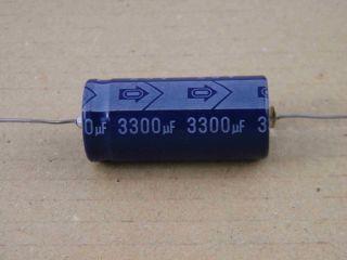 ELETTROLITICO ASSIALE 3300UF 25V 18X35MM SANHWA