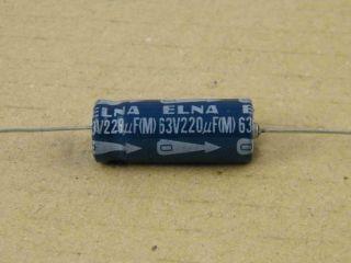 ELETTROLITICO ASSIALE 220UF 63V 10X25MM ELNA
