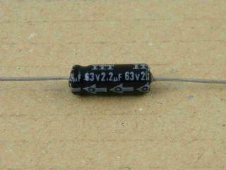 ELETTROLITICO ASSIALE 2.2UF 63V 5X15MM ITT