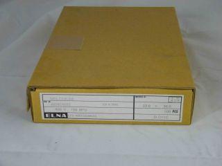 100PZ ELETTROLITICO 100UF 400V SBAP-IN ELNA 22X30 LP5-400V101MS23